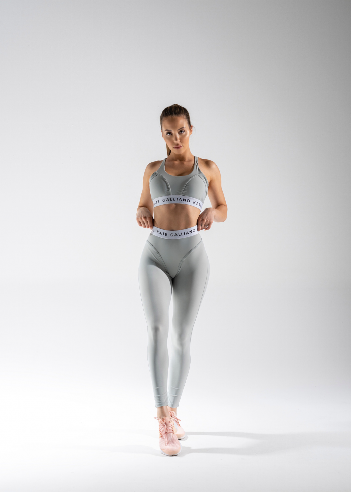 grey activewear set