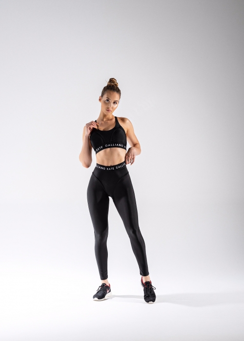 black sportswear set