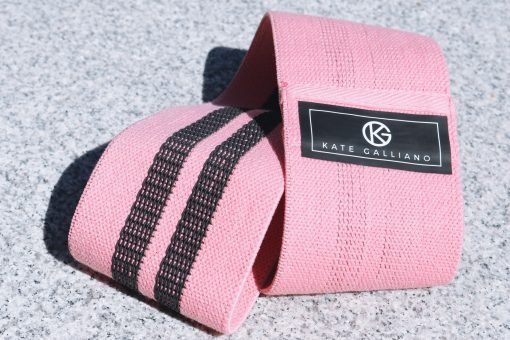 pink resistance booty glute band